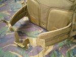 Поясной ремень тактического рюкзака RUSH 72 Backpack широкий и мягкий