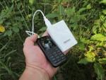 Работа Soshine SC-SAA в качестве Powerbank для зарядки других устройств