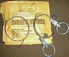 Пила-струна, ручная карманная пила, Commando Wire Saw, описание, особенности применения и работы с такой пилой, тест и обзор