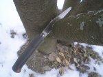 Складная пила Kershaw с замком Quik-Lock, описание, конструкция, работа пилой, распиливание деревьев и дров, обзор и тест