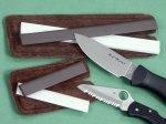 Портативные карманные точилки от фирм Spyderco и Lansky для заточки ножей в городских и полевых условиях