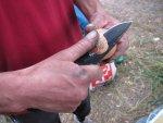Складной нож Skif 566 BL 440C G-10, обзор, тест и общие впечатления от работы в полевых условиях