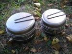 Набор туристической посуды из титана Snow Peak Ti-Multi Compact Cookset SCS-020T, характеристики, обзор и особенности конструкции