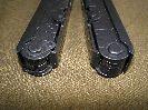 Острые углы накладок на рукоятиSOG EOD PowerLock B61
