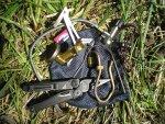 Чистка и обслуживание газовой горелки Primus Express Spider в полевых условиях, зачем нужен тросик в трубке подачи газа на горелке, обзор