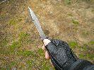 Удержание ножа Стервец в руке
