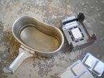 Pocket stove или карманная печь работающая на таблетках сухого спирта, описание, обзор