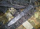 Попробовали навесить ножны ножа Стрела на различные ремни