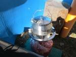 Обзор стального походного чайника GSI Glacier Stainless Tea Kettle
