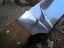Солидная толщина клинка в обухе, предполагает предрасположенность ножа Терек-2 к тяжелой работе
