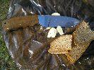 Хлеб и чеснок Терек-2 режет аккуратно, можно тонко, можно толсто