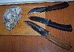 тест ножей по мороженным грибам