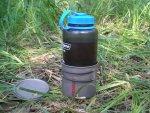 Титановая кружка Primus TiTech Pots с бутылкой Nalgene