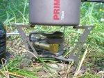 Титановая кружка Primus TiTech Pots с газовой горелкой Primus Express Spider