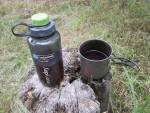 Титановая кружка Primus TiTech Pots с бутылкой Nalgene Wide Mouth