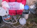 Кружка Primus TiTech Pots с горелкой Primus Express Spider