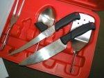 Набор кухонных инструментов и принадлежностей Kershaw Camp Tool Trader для шашлыков и пикников, обзор и впечатления от использования на природе