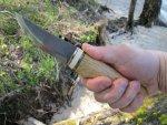 Авторский нож Трояндер, описание, обзор, тест и впечатления от конструкции ножа и его ножен