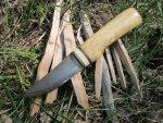 Полевой тест авторского ножа Трояндер