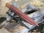 Авторский нож Украинский, практически полная копия древних ножей найденных при раскопках на территории Украины, обзор