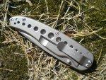 Складной нож Kershaw Vapor III Plain Edge, общий обзор, устройство, впечатления