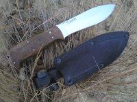 Туристический нож Варан от Кизляр, описание, обзор, тест и впечатления от использования