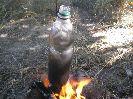 Пластиковая бутылка после кипячения в ней воды остается целой