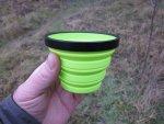 Складная чашка X-Cup из эластичного жаропрочного пищевого силикона от компании Sea To Summit, описание и обзор