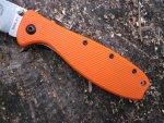 Складной нож ESEE Zancudo Folder, Orange Handle, описание, устройство, обзор и впечатления от работы