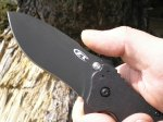 Складной нож Zero Tolerance Folding Model ZT0350, S30V Black TDLC Coating, Black G10 Handle, Plain Edge, обзор