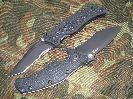 Складной нож Zero Tolerance Matte Black ZT0400ST, краткий обзор