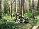 Занятия, игра со школьниками в трех частях, Приключения Грибника или что делать если заблудились в лесу, порядок поведения и действий