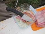 Нож Junak позиционируется производителем, как нож для полевой кухни