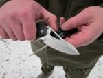 Заточка складного ножа Lansky Responder