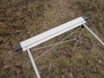 Установка боковой опорной панели раскладного стола Pinguin Table S
